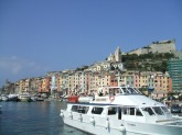 Portovenere and our boat