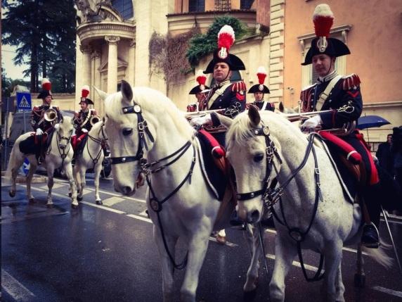 Carnevale Rome - Carabinere