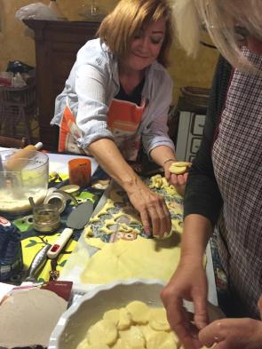 I love Gnocchi alla Romana and it is easy to make.